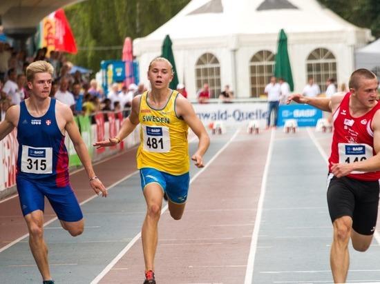 Томич выиграл юношеское первенство России по легкой атлетике
