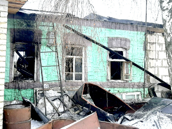 В Пронском районе многодетная семья осталась без крова после пожара