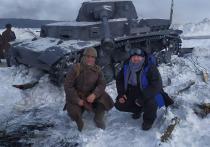Сержант легендарной 9 роты в окопах под Тулой встретил однополчанина