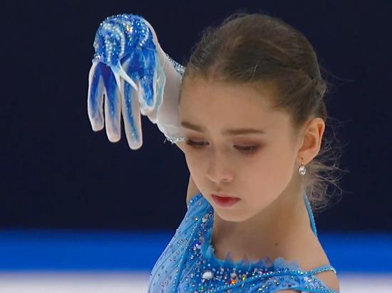 Камила Валиева выиграла Финал Кубка России по фигурному катанию