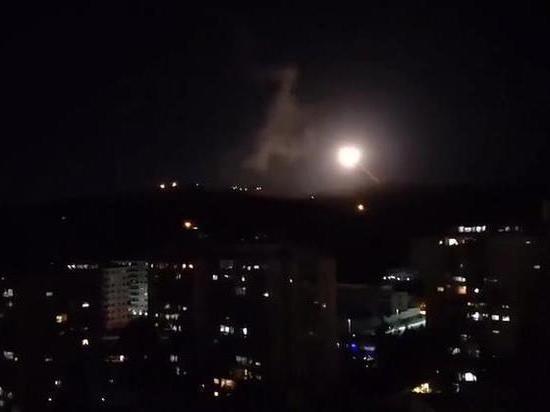 Сирийские подразделения ПВО отразили ракетную атаку Израиля