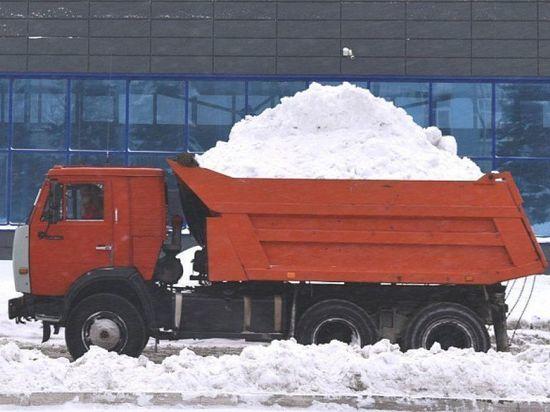 Снежный коллапс: в Барнауле выпало рекордное число осадков