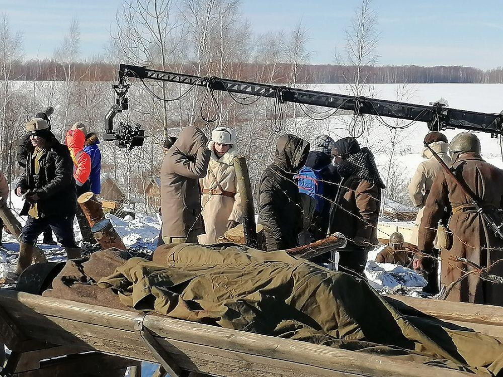 """Что происходит на съемочной площадке фильма """"Первый """"Оскар"""" в Тульской области"""