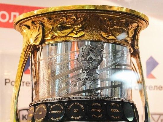 Туляки увидят главный трофей Чемпионата Континентальной хоккейной лиги
