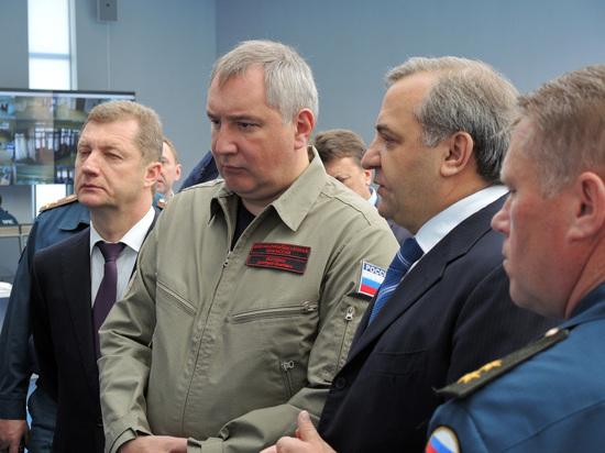 Рогозин заявил о вечном строительстве космодрома «Восточный»