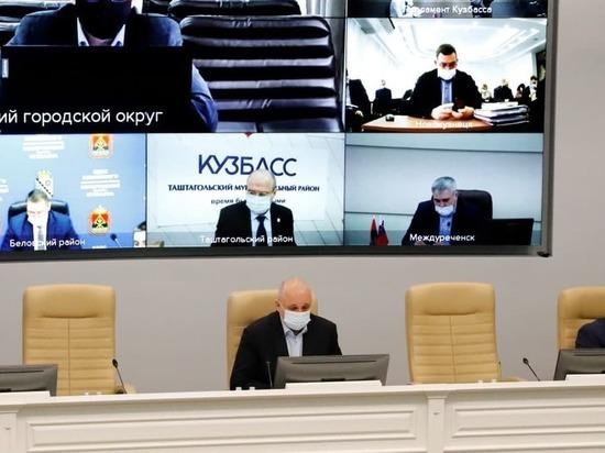 Глава Кузбасса Сергей Цивилёв раскритиковал управляющие компании за плохую уборку снега