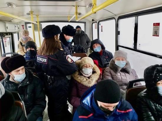 В феврале в красноярских автобусах оштрафовали 15 человек за отсутствие маски