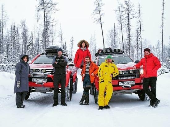 Красноярец стал участником автопробега по Якутии