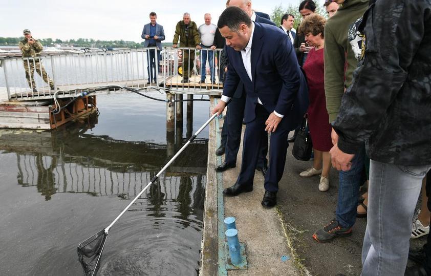 Рыба моей мечты: чем увлекается губернатор Тверской области
