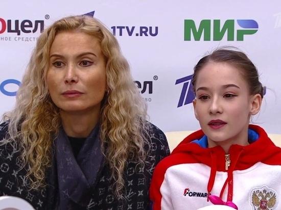 В Москве состоялись соревнования юниорок в финале Кубка России по фигурному катанию