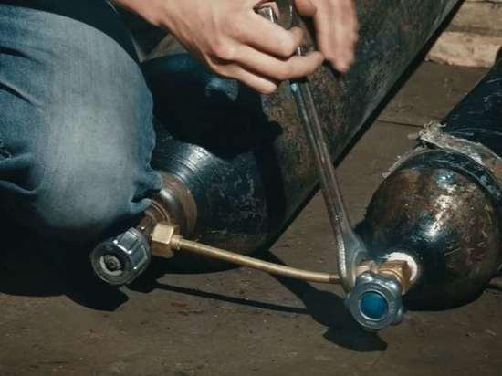 Житель Курска взорвался при покупке баллона с углекислым газом