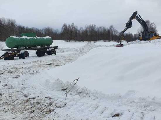 Сельскохозяйственное поле в Карелии изуродовали якобы для прокладки ЛЭП. ФОТО