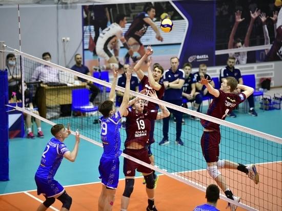 Волейболисты молодежного «Факела» обыграли команду из Сургута в первом матче «Финала шести»