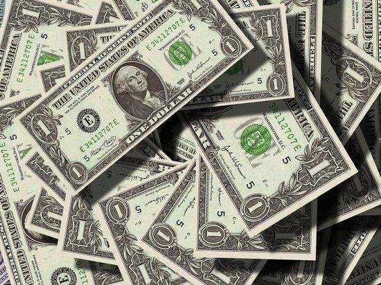 Официальный курс доллара снизился более чем на рубль