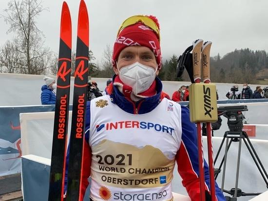В Оберстдорфе на чемпионате мира по лыжным гонкам состоялась индивидуальная гонка на 15 км у мужчин