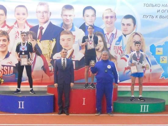 Легкоатлет из Калмыкии стал лучшим в стране