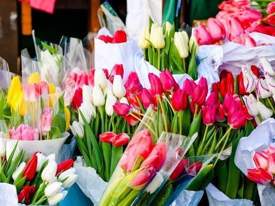 В Волгограде назвали среднюю стоимость букета к 8 Марта