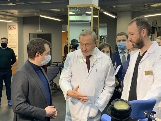 Высокотехнологичное отделение реабилитации открыла мурманская Пироговка