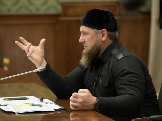 Малышева встретилась с Кадыровым в Чечне