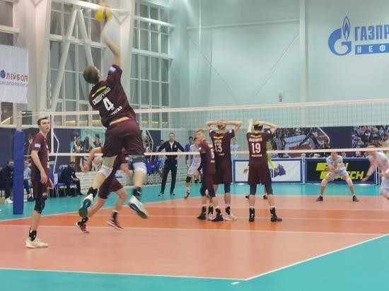 Волейболисты «Факела» из Нового Уренгоя проиграли московской команде в «Финале шести»