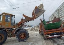 За сутки из Йошкар-Олы вывезено еще 1,7 тысячи кубов снега