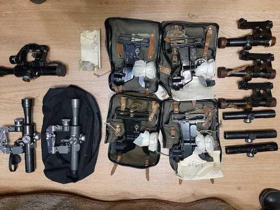 Житель Барнаула пытался продать военные прицелы за границу