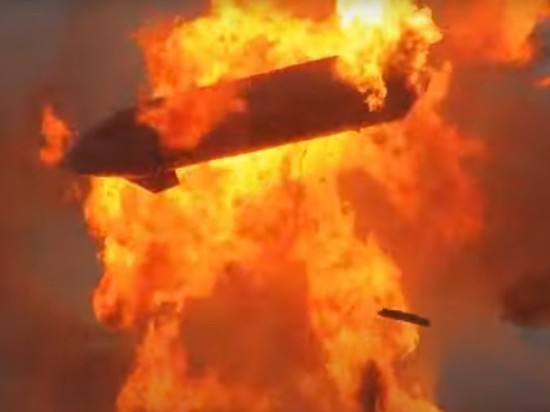 Названа предполагаемая причина взрыва Starship