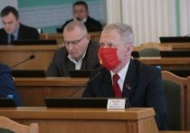 Депутат Федин назвал отношение председателя Горсовета Корбута к красному флагу боязнью