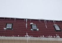 В Йошкар-Оле очищено от снега 147 скатных крыш