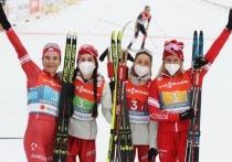 Тверская лыжница в составе сборной России выиграла серебро Чемпионата мира