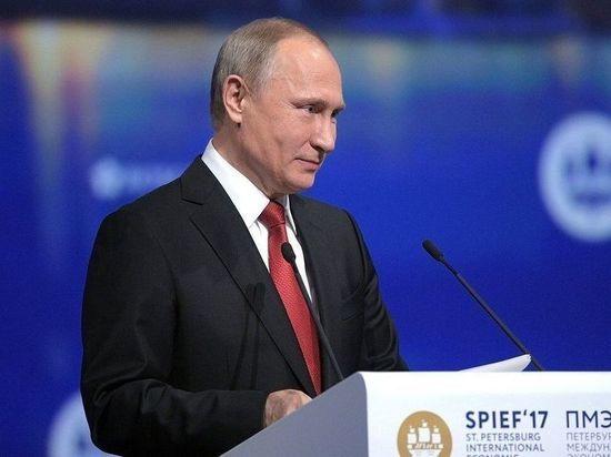 Путин пообещал приехать на Петербургский международный экономический форум
