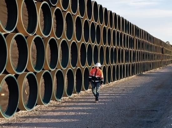 """Строительство газопровода """"Северный поток-2"""" отложили на полгода"""