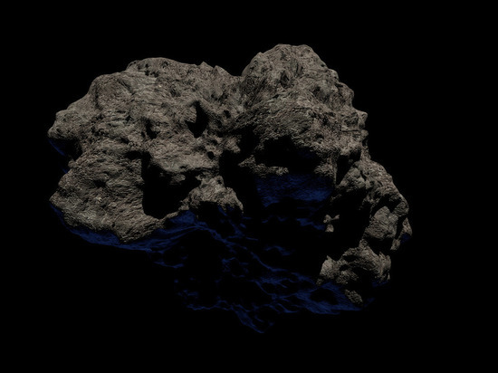 На околоземном астероиде нашли воду и органические вещества