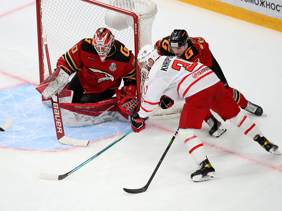 Омский «Авангард» выдал вторую победу в текущем плей-офф