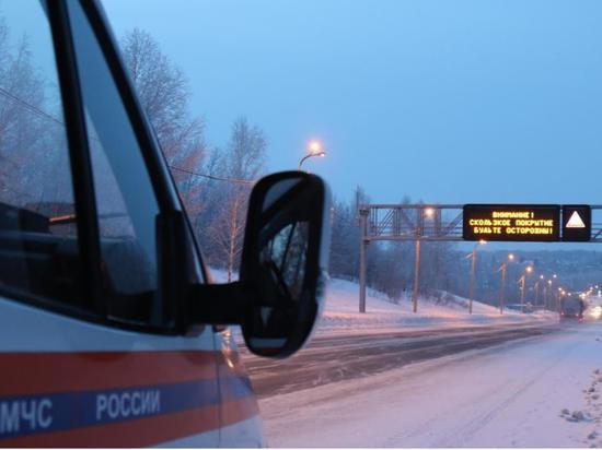 Из-за сильной метели в Алтайском крае перекрыли дороги в двух районах