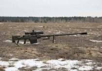 Министерство обороны Украины разрекламировало снайперскую винтовку «Аллигатор», созданную для войны на Донбассе