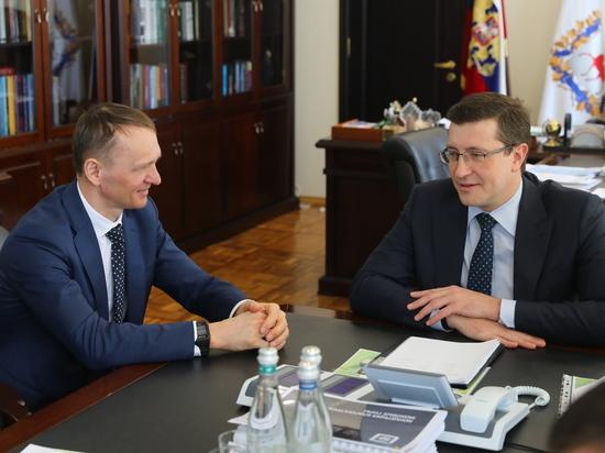 Никитин и Колесников обсудили планы создания биатлонного комплекса на Бору