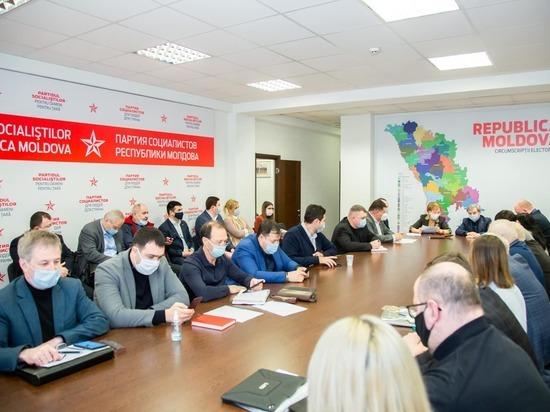 В ходе заседания парламентской фракции Партии социалистов депутаты выразили свою решимость продолжить дискуссии с парламентскими партиями, а также с президентом страны для выхода из политического кризиса