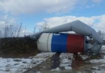 Еще одна водонапорная башня упала в Тверской области