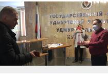 Востановленного в должности Бориса Сарнаева не пустила на работу охрана Госсовета