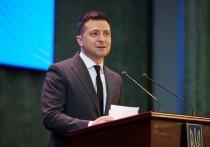 Президент Украины решил доказать свой патриотизм