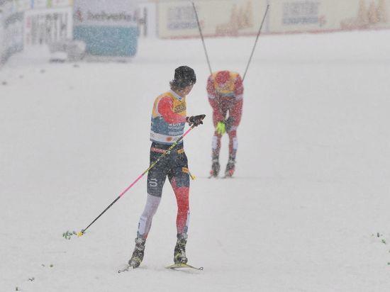 В Оберстдорфе состоялась мужская эстафета на чемпионате мира-2021 по лыжным гонкам