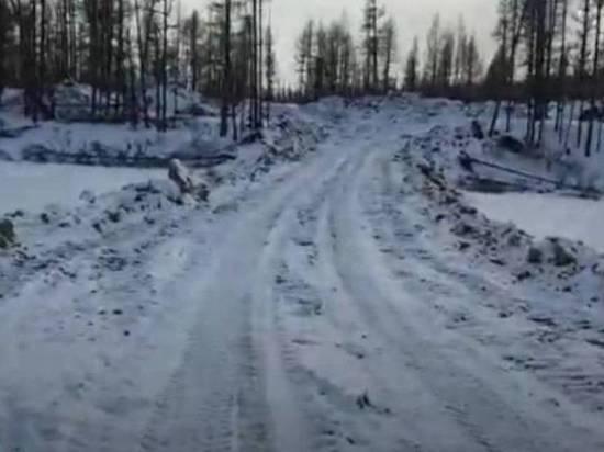 Минэкологии Якутии взяло на контроль ситуацию с перекрытием реки Токко