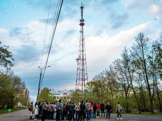 В Кирове зажгут огни телебашни