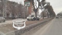 В Хакасии очевидцы сняли на видео результат ДТП с деревом