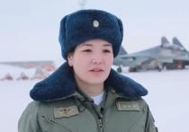 Военное ведомство Казахстана в преддверии 8 марта разместило в Сети видеоролик о единственной в мире женщине-пилоте истребителя Су-30СМ старшем лейтенанте Ардане Ботай