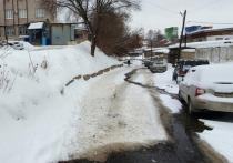 В Ижевске повторно прорвало трубу на ул. Базисной