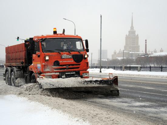 Коммунальные службы Москвы переведены в режим повышенной готовности перед снегопадом