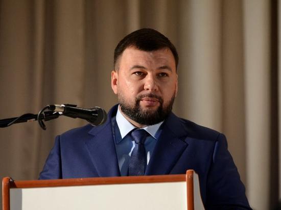 Пушилин заявил о всех признаках подготовки Киевом наступления в Донбассе