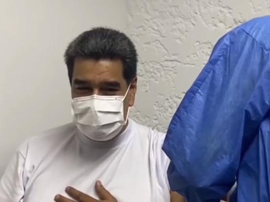 Мадуро заговорил по-русски после прививки российской вакциной